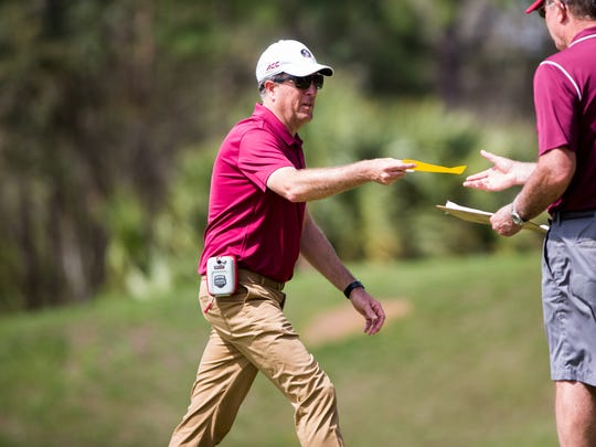 FSU men's golf coach Trey Jones is looking to bring home the Seminoles' first ACC crown since 2008.
