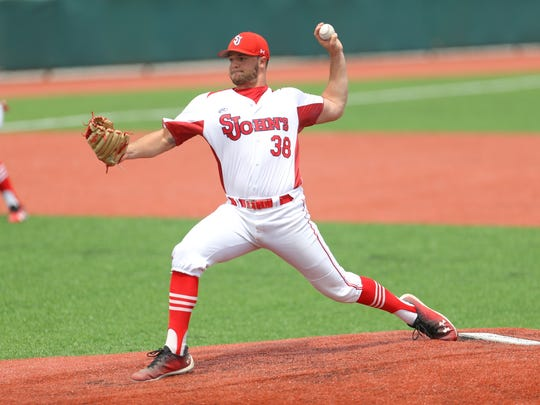 Over his final two seasons at St. John's, Magee went a combined 11-4 with a 2.59 ERA and helped lead the Red Storm to consecutive 40-win seasons and NCAA Regional appearances.