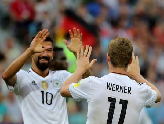 EPA RUSSIA SOCCER FIFA CONFEDERATIONS CUP 2017 SPO SOCCER RUS