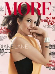 The March 2016 cover of More magazine, published by