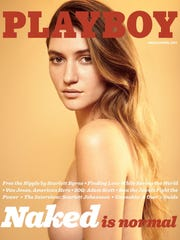 The March/April issue of 'Playboy' will again feature