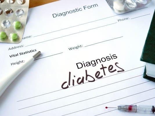 Diagnosis diabetes  and pills.