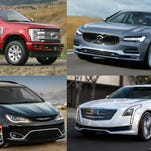 Photos: 2017 North American Truck of the Year semifinalists