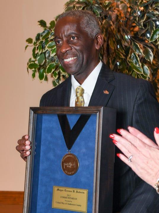 Mayor Terence Roberts United Way