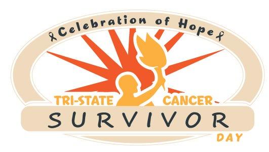 Logo for Gilda's Club Tri-State Cancer Survivor Day.