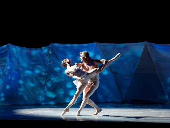 A scene from the Ballet Arizona performance of 'Topia'