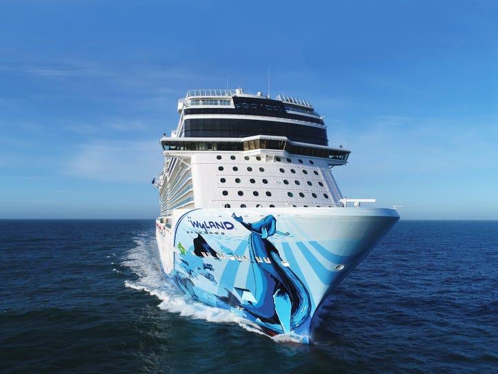 Norwegian Cruise Line's 4,004-passenger Norwegian Bliss.