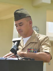 Major Tim Patrick, public affairs officer for Marine