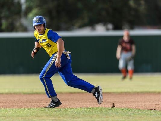 7 Henderson Flash Baseball