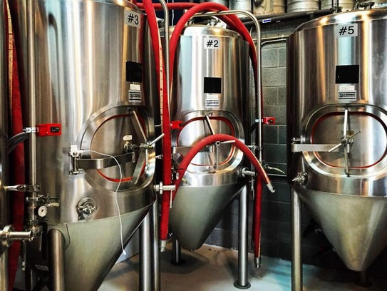 Ode Brewing will have five beers brewed inside its