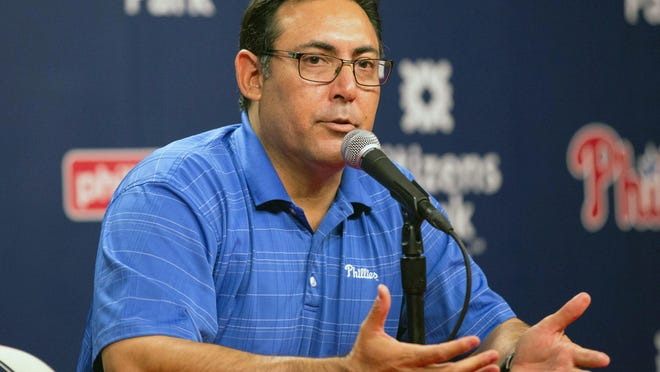 Ruben Amaro Jr. has been part of the Phillies management team for 17 years.