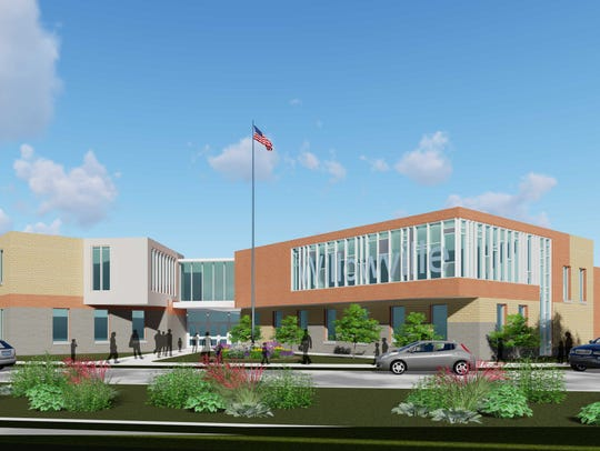 Rendering of the new Willowville Elementary School