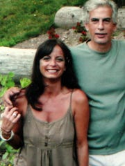 Lori Guglielmo and her brother, Anthony Guglielmo, a Port Chester plumber, shown with her in an undated family picture.