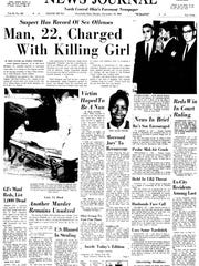 This is the front page of the Mansfield News Journal on Nov. 14, 1965, the day after 14-year-old Mary Ellen Deener was killed.