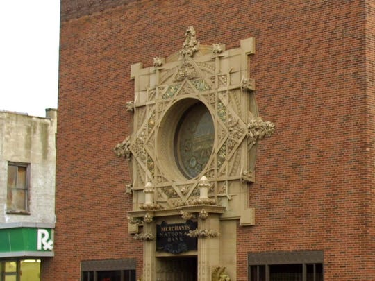 """The famous """"jewel box"""" Sullivan Building in downtown"""