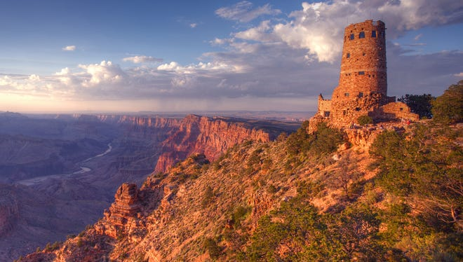 Because of a water pump failure, Grand Canyon officials say water is not flowing to the South Rim, so conservation guidelines were implemented for all consumers on the South Rim, Desert View and Hermit's Rest.