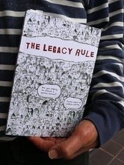 "Dr. Jerry Nathan's book, ""The Legacy Rule."""