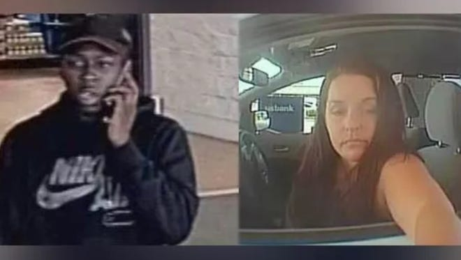Fort Thomas police are searching for two suspects in a theft. Investigators believe the suspects are part of the Felony Lane Gang.