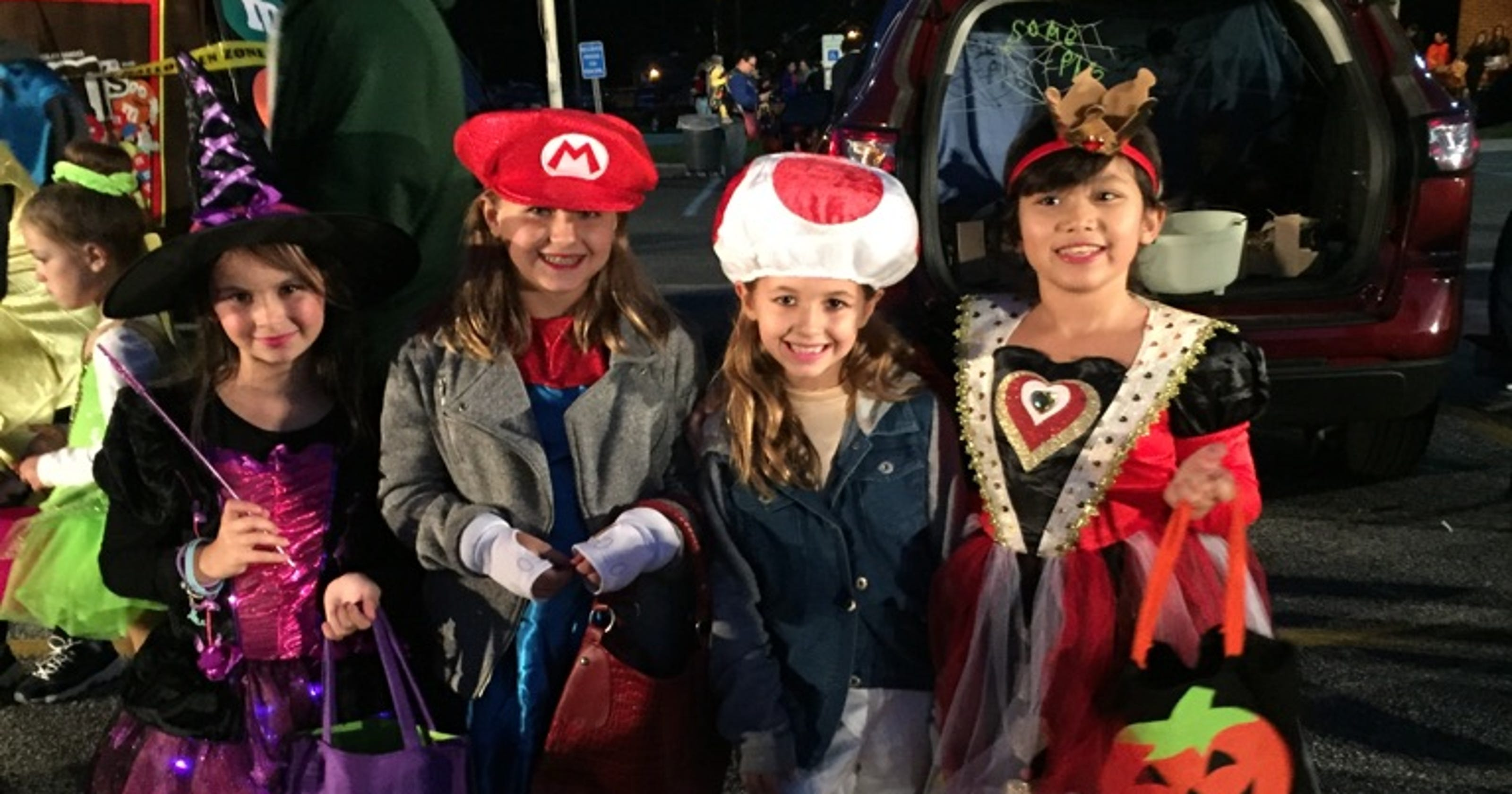 trunk or treat in nj south jersey spots host new halloween tradition