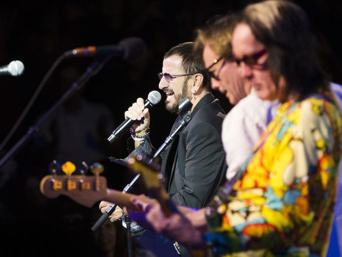 Ringo Starr performs with his All-Starr Band at Celebrity