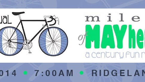100 Miles of MAYhem Charity Ride