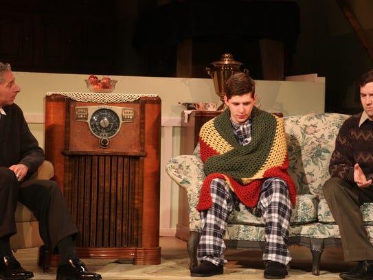 From left, Mark Maresca plays Jack, Benjamin Glasner