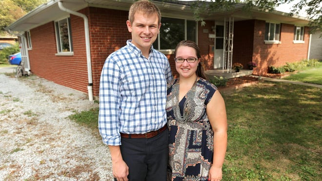 Millennials Brandon and Allison Anderson just bought their first house about three months ago on Indianapolis' Eastside.