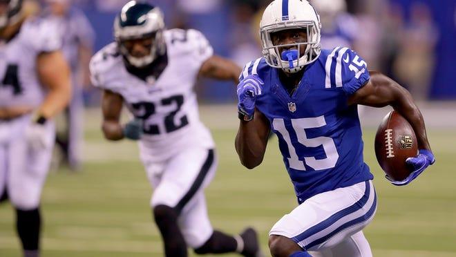 Phillip Dorsett and the rest of the Colts will begin their 2016 regular season against the Detroit Lions on Sept. 11.