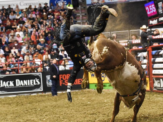 PBR Tour: Professional Bull Riders come to Des Moines