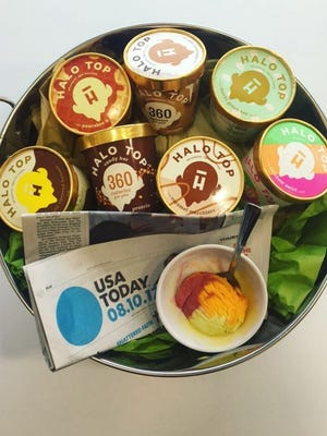 Peep the seven new Halo Top flavors.