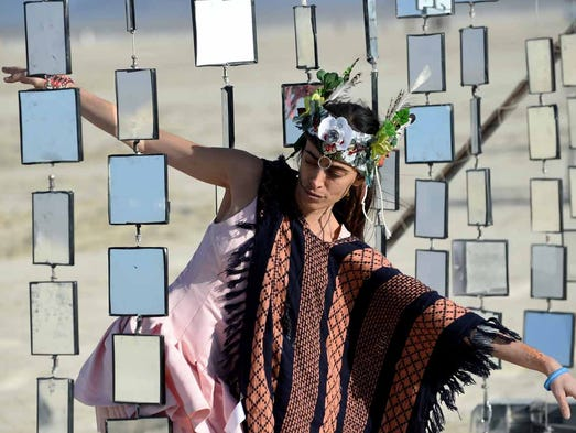 Images from Burning Man on the Black Rock Desert in