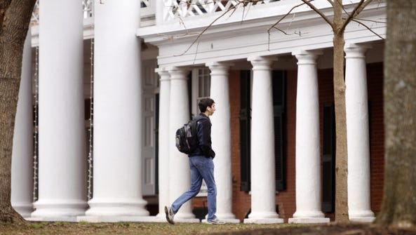 It was reported that University of Virginia chapter