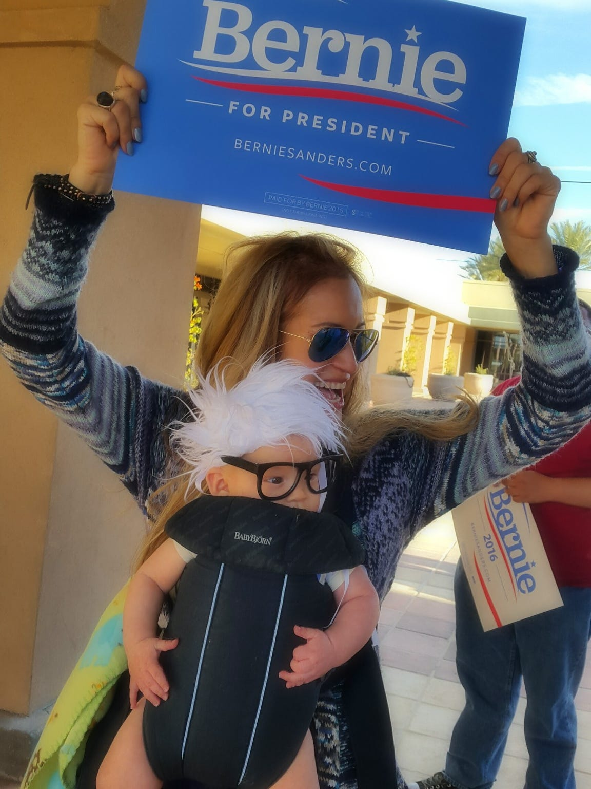 "Oliver Lomas was known all around the world as the ""Bernie Baby."""