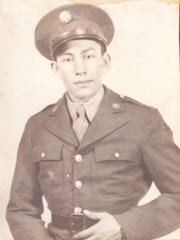 Alfonso Baca Rey served in the Army during World War II.