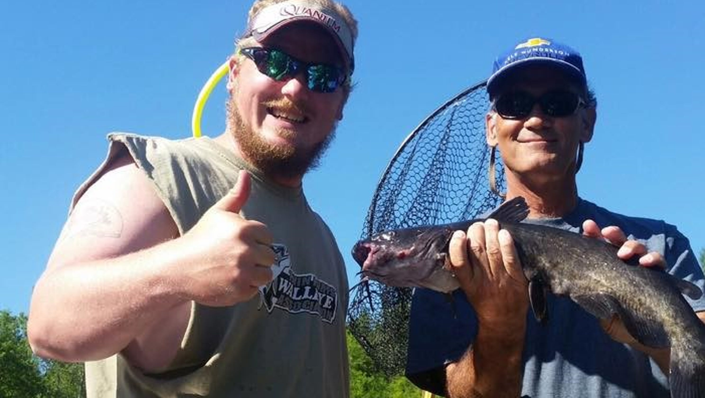 Northwest wisconsin fishing report for july 14 for Today s fishing forecast