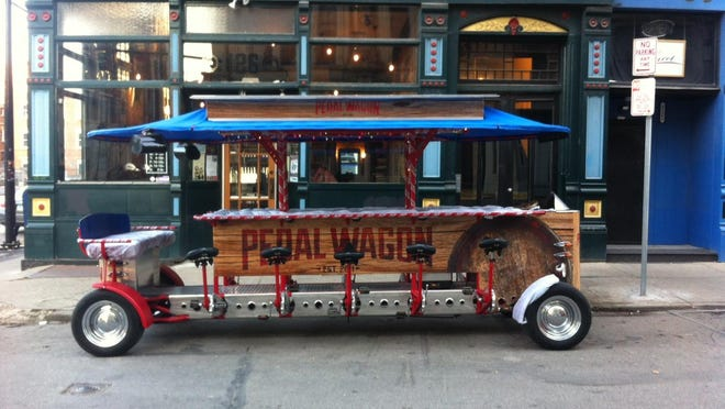 The Pedal Wagon.