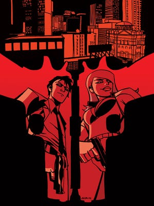 "The Mob runs a good bit of America in the alternate history of the crime comic ""The United States of Murder Inc."""