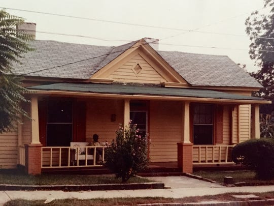This is the house in which Pearl was raised in Raleigh, North Carolina. It still stands today.