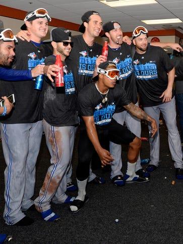 Sep 30, 2015; Baltimore, MD, USA;  Toronto Blue Jays
