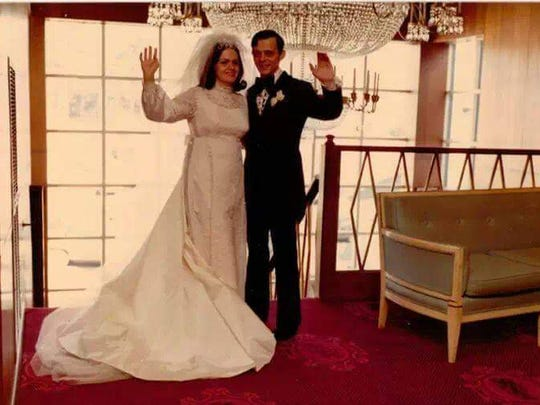 Richard and Kathy Vollmer were married in 1972.
