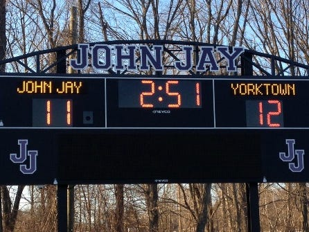 John Jay opened the season with a 13-7 win over Suffern.