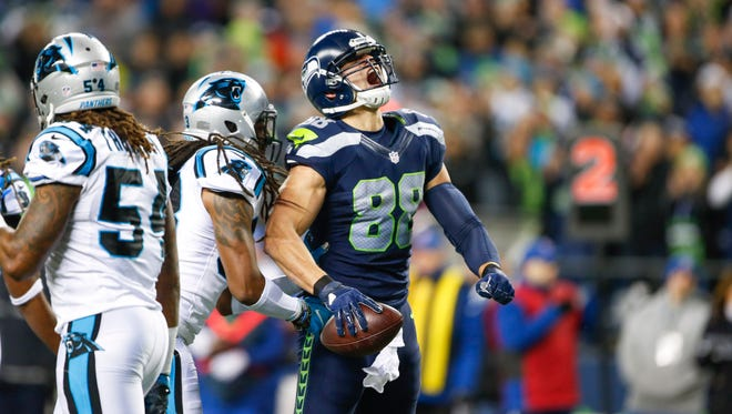 Jimmy Graham is the highest paid tight end in the NFL.