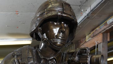 Statues honor those who served in War on Terror