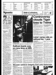 This week in BC Sports History - July 23, 1985