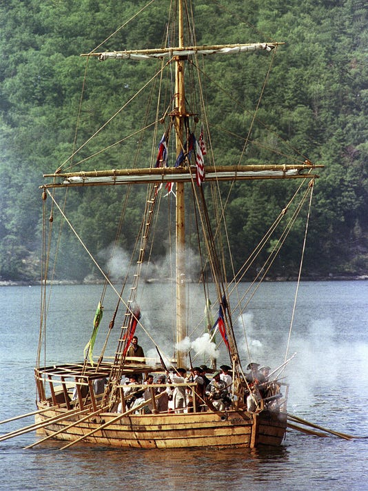 Revolutionary War Gunboat