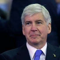 Gov. Rick Snyder used his pardon powers to erase the drunken driving conviction of a politically connected lawyer who was appointed to a state economic board in 2011.