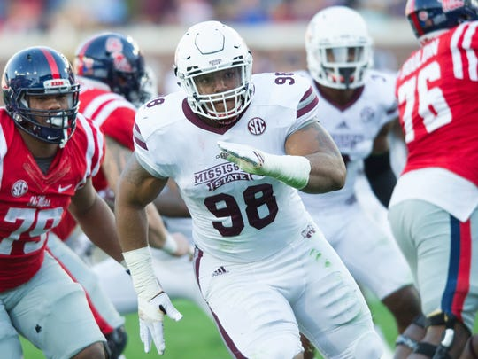 Jeffery Simmons registered 40 tackles as a true freshman.