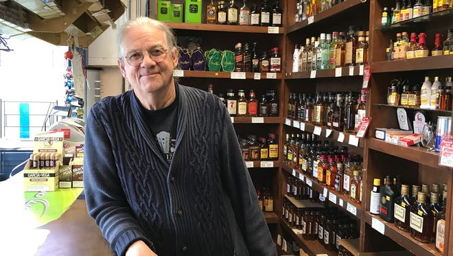 John Kinman, a former star basketball player at Vevay and Switzerland County, owns two liquor stores in Madison.