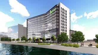 Dallas-based developer KDC has announced plans for an office highrise at Tempe Town Lake.