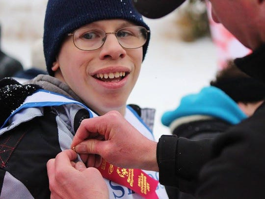 Nick Roberts, 24, of Great Falls was recently named Special Olympics Montana Athlete of the Year. He competes year-round in basketball, snowshoeing, athletics, bocce and bowling.